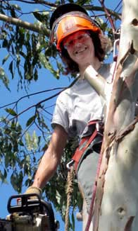 Lesley Baker, Tree Surgeon